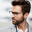 men's optical glasses