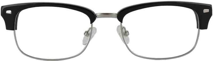 Prescription Glasses Model GEEK201-BLACK-FRONT