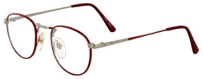 Prescription Glasses Model GEEK203-RED GOLD-45