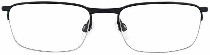 Oakley Prescription Glasses Model BARRELHOUSE-0.5 MATTE BLACK-FRONT