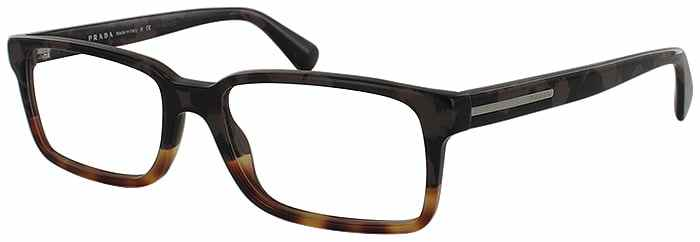 Prada Prescription Glasses Model VPR-15Q-QE1-101-45
