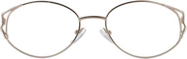 Prescription Glasses Model 7704-GOLD-FRONT