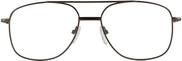 Prescription Glasses Model 7705-COFFE-FRONT