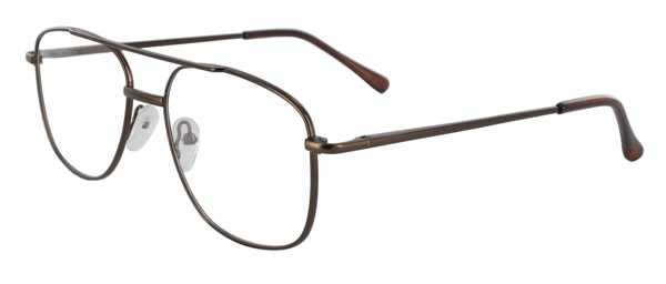 Prescription Glasses Model 7705-COFFEE-45