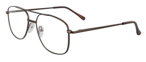 Prescription Glasses Model 7705-COFFEE-45