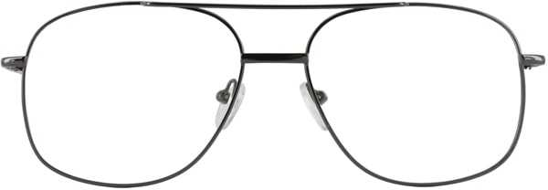 Prescription Glasses Model 7705-GUNMETAL-FRONT