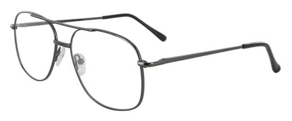 Prescription Glasses Model 7705-GUNMETAL-45
