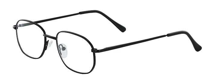 Prescription Glasses Model 7706-BLACK-45
