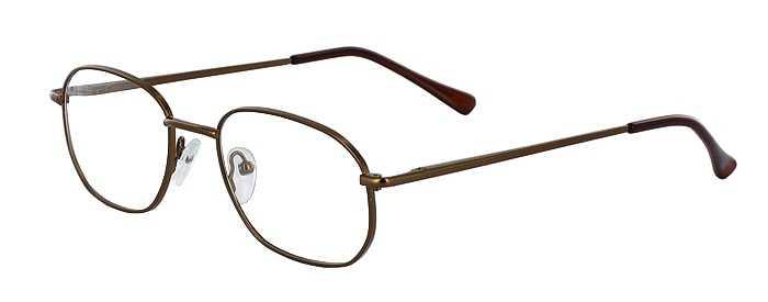 Prescription Glasses Model 7706-COFFEE-45