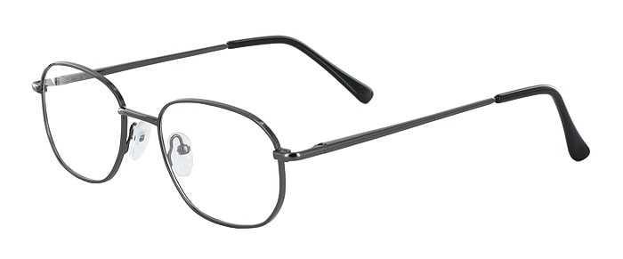 Prescription Glasses Model 7706-GUNMETAL-45