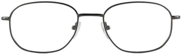 Prescription Glasses Model 7706-GUNMETAL-FRONT