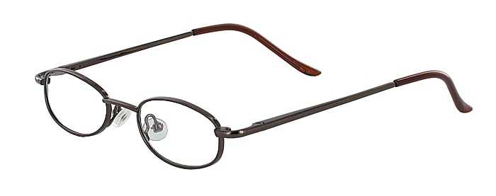 Prescription Glasses Model 7709-COFFEE-45