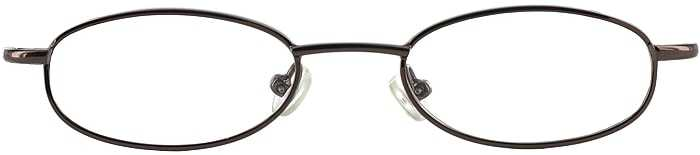 Prescription Glasses Model 7709-COFFEE-FRONT