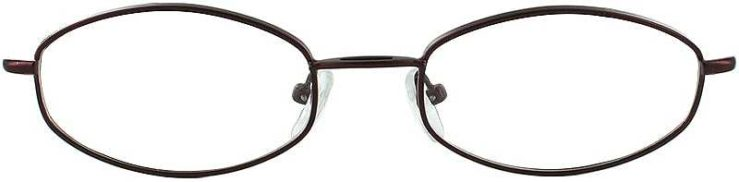 Prescription Glasses Model 7710-BURGUNDY-FRONT