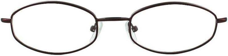 Prescription Glasses Model 7710-BURGUNDY-FRONT