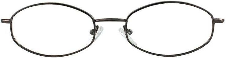 Prescription Glasses Model 7710-COFFEE-FRONT