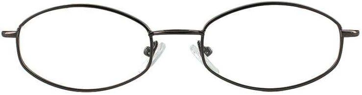 Prescription Glasses Model 7710-COFFEE-FRONT