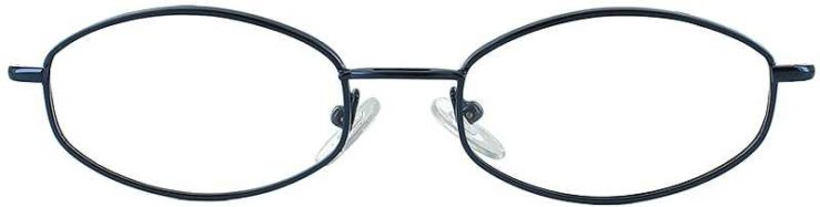 Prescription Glasses Model 7710-INK-FRONT