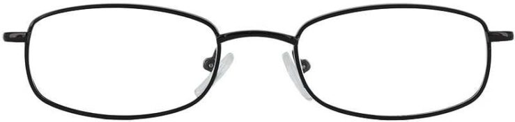 Prescription Glasses Model 7711-BLACK-FRONT