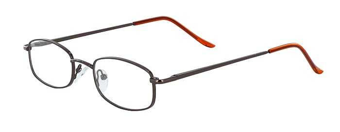 Prescription Glasses Model 7711-COFFEE-45