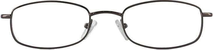 Prescription Glasses Model 7711-coffee-FRONT