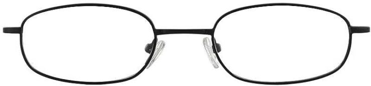 Prescription Glasses Model 7712-BLACK-FRONT