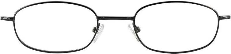 Prescription Glasses Model 7712-GUNMETAL-FRONT