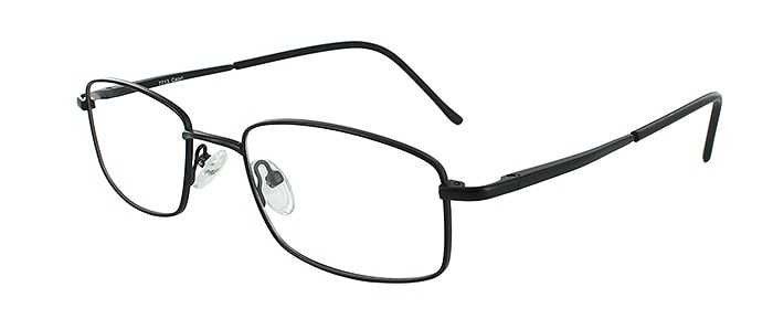 Prescription Glasses Model 7713-BLACK-45