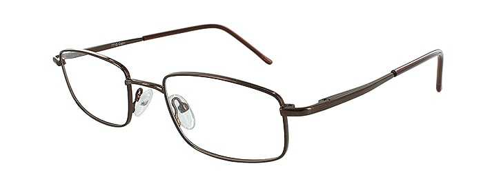 Prescription Glasses Model 7713-COFFEE-45