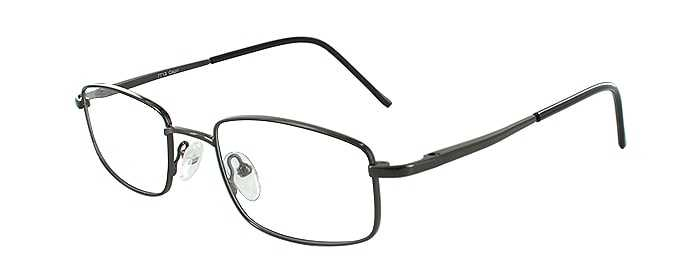 Prescription Glasses Model 7713-GUNMETAL-45