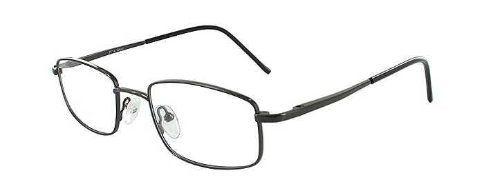 Prescription Glasses Model 7713-GUNMETAL-45