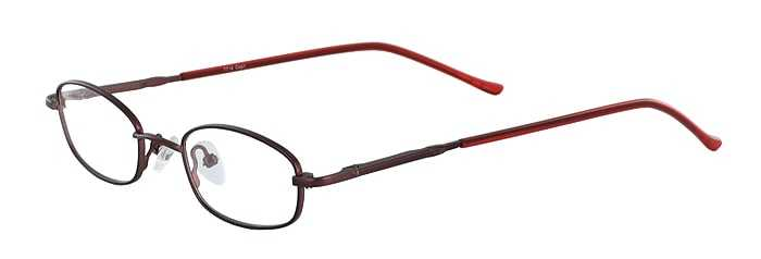 Prescription Glasses Model 7714-BURGUNDY-45