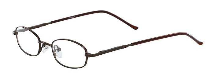 Prescription Glasses Model 7714-COFFEE-45