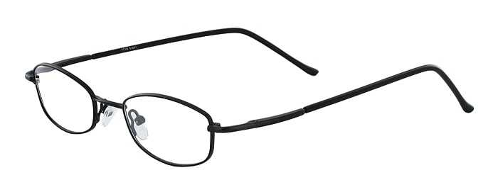 Prescription Glasses Model 7716-BLACK-45