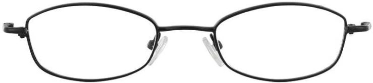 Prescription Glasses Model 7716-BLACK-FRONT