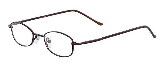 Prescription Glasses Model 7716-PLUM-45