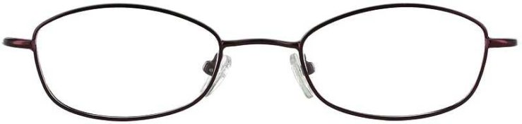 Prescription Glasses Model 7716-PLUM-FRONT