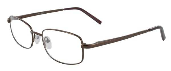 Prescription Glasses Model 7719-COFFEE-45