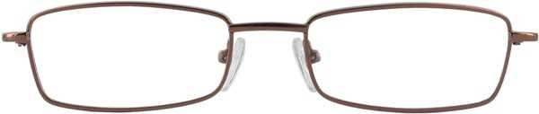 Prescription Glasses Model 7720-COFFEEE-FRONT