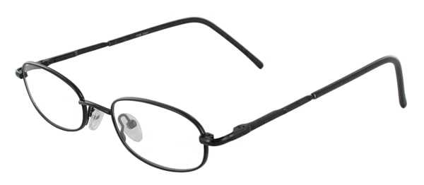 Prescription Glasses Model 7722-BLACK-45