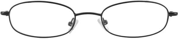 Prescription Glasses Model 7722-BLACK-FRON
