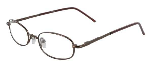 Prescription Glasses Model 7722-COFFEE-45