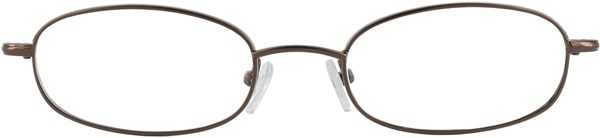 Prescription Glasses Model 7722-COFFEE-FRON