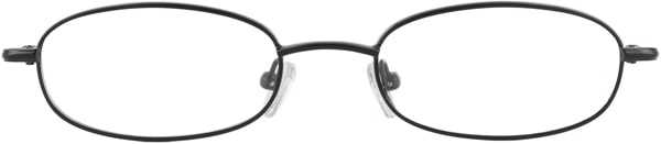 Prescription Glasses Model 7722-GUNMETAL-FRON