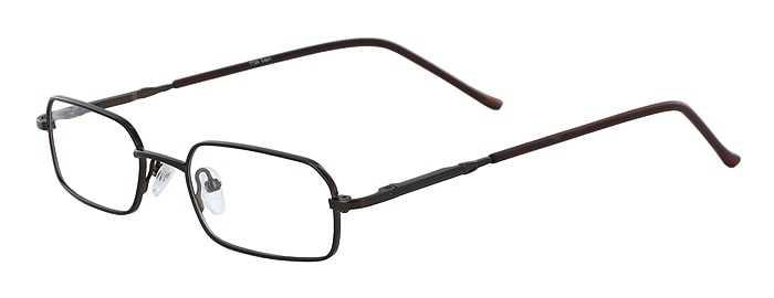 Prescription Glasses Model 7729-BROWN-45