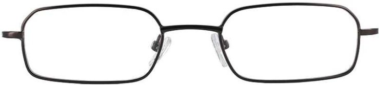 Prescription Glasses Model 7729-BROWN-FRONT