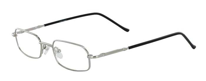 Prescription Glasses Model 7729-SILVER-45