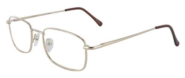 Prescription Glasses Model 7730-GOLD-45