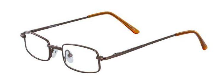 Prescription Glasses Model 7731-BROWN-45