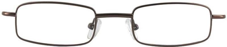 Prescription Glasses Model 7731-BROWN-FRONT